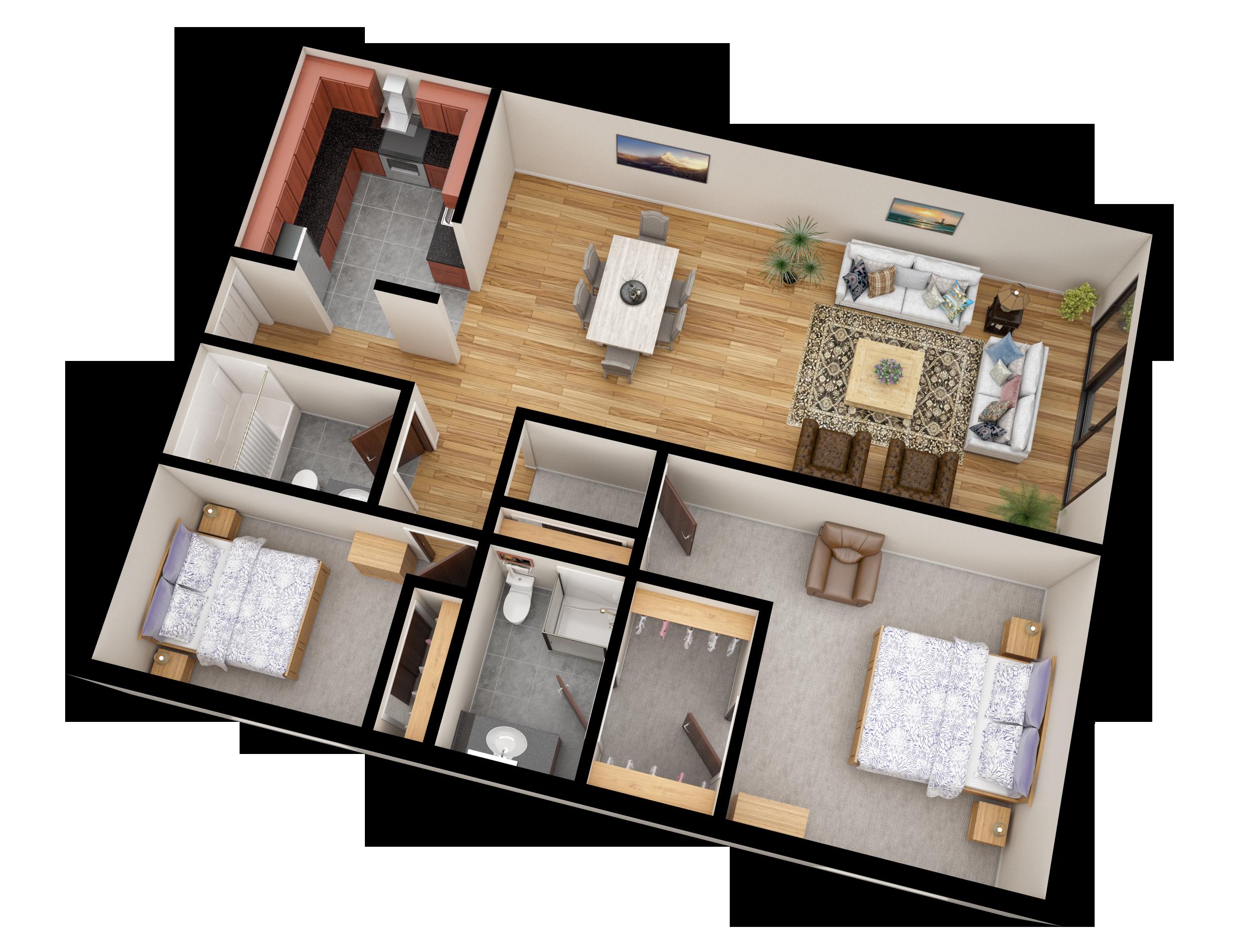 05 Apartment Line