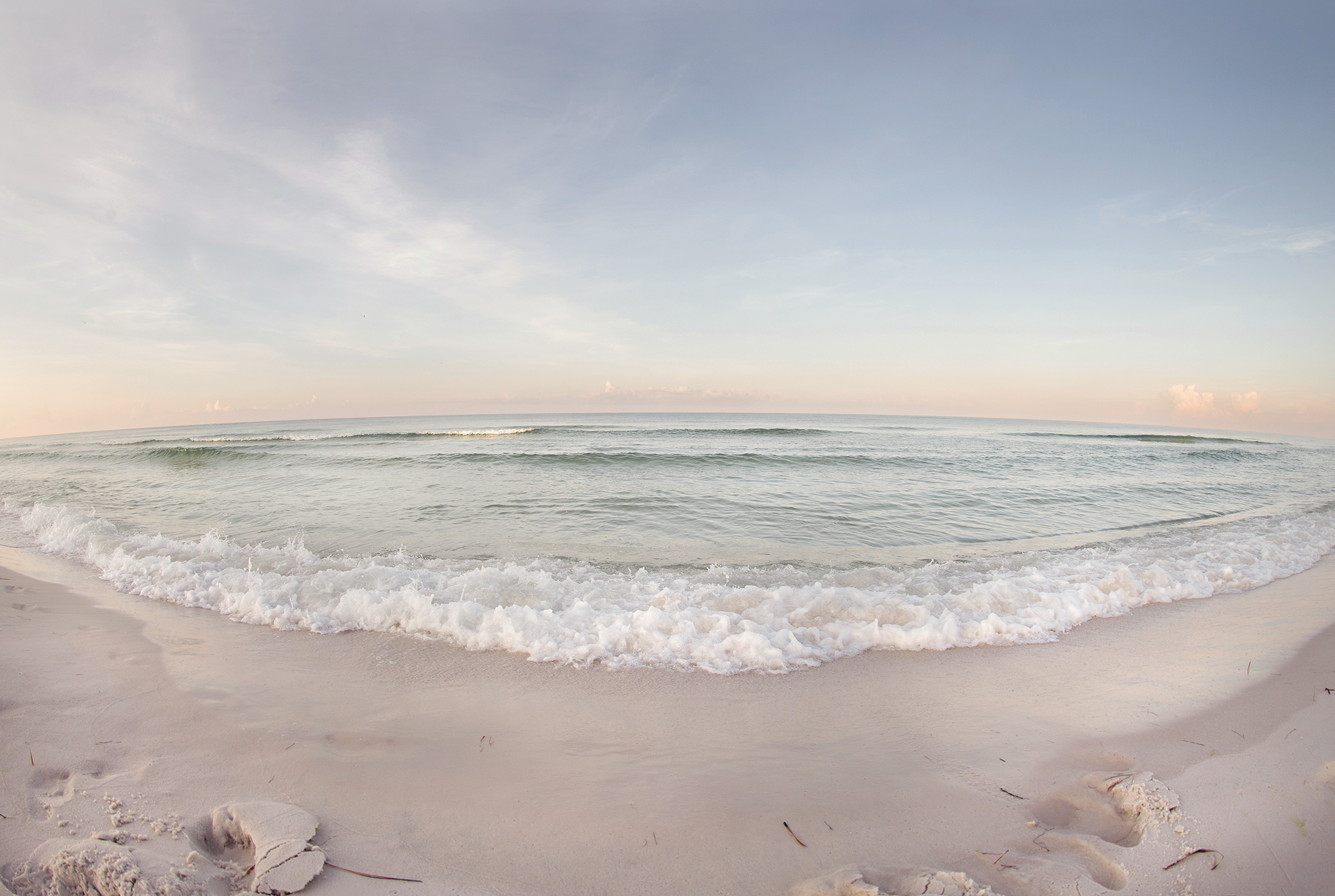 Sunrise in Santa Rosa Beach.