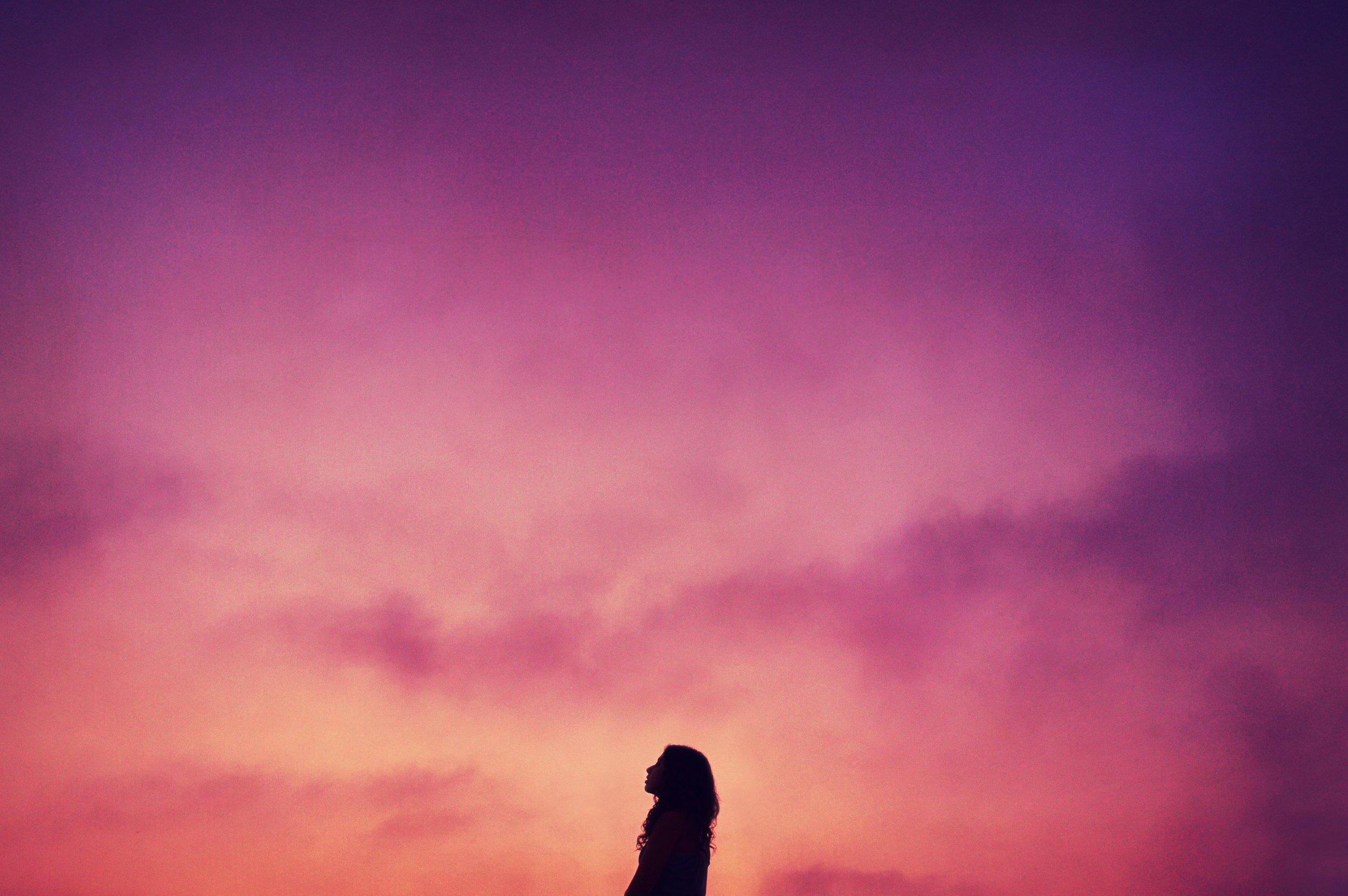 pink sky yoga