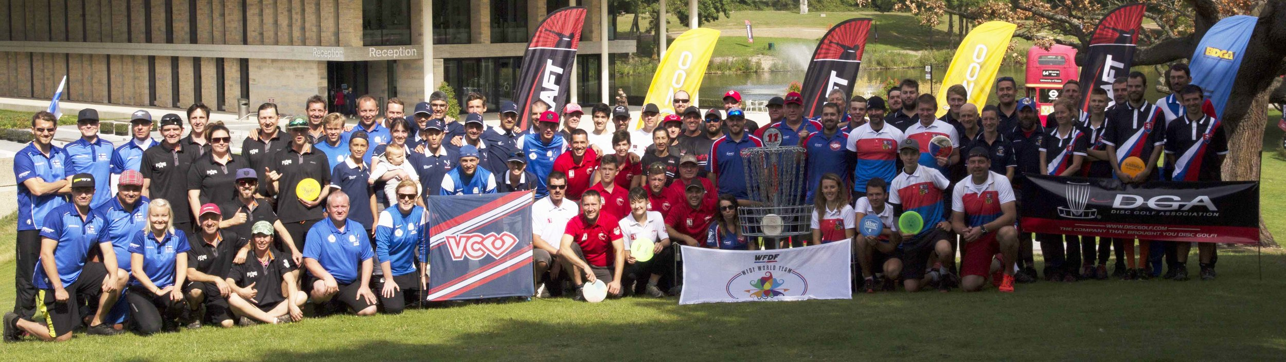 Team World Disc Golf Championship 2017 participants - Colchester, England