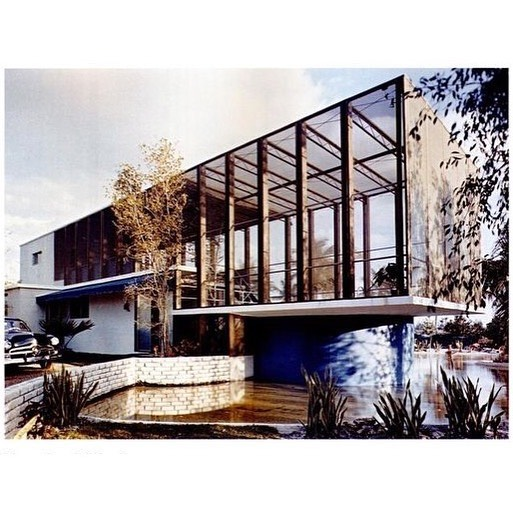 Another one of The Heller House by Miami architect Igor Polevitkzy. 1950. Outdoor living, post war optimism, and the zenith of the passion for leisure.