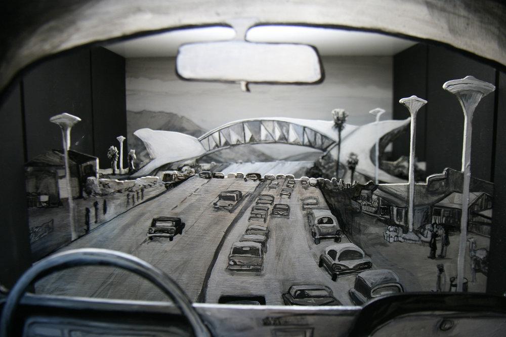 NGBK. Berlin, Germany.   Skyjacking Above, Tunneling Below
