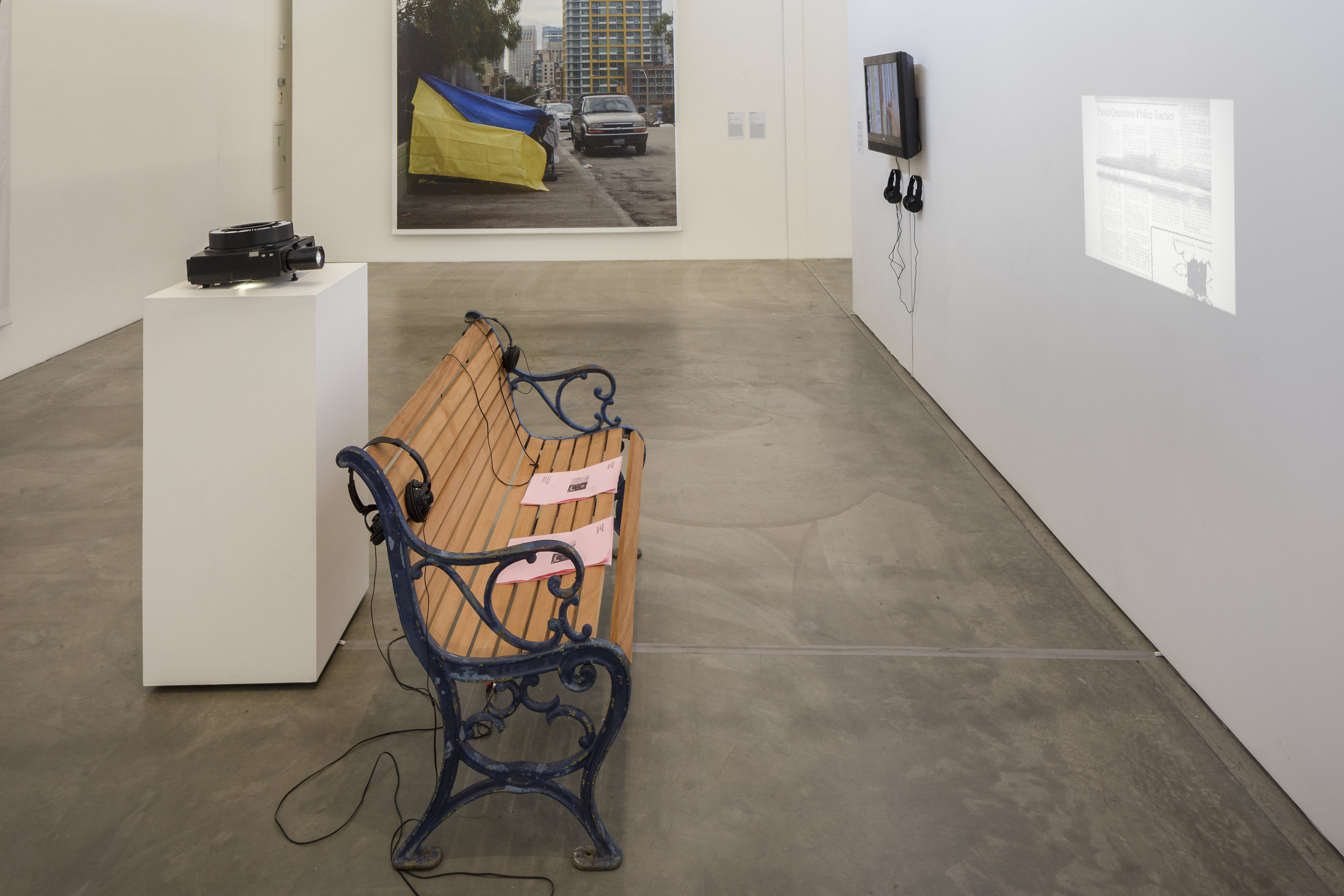 Museum of Contemporary Art, San Diego, CA . Being Here with You/ Estando aquí contigo