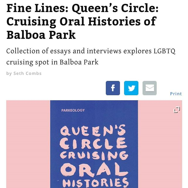 We wanted to share with you today a piece written by @combsseth about our book project Queen's Circle. It articulates some of our deepest goals with this work-- which is very rare in the world of arts reporting. 🖤 We're sad and concerned about the changes that are happening at the San Diego Citybeat- including the layoff of Seth, and hope that the integrity of arts reporting in the city stays alive. 🖤