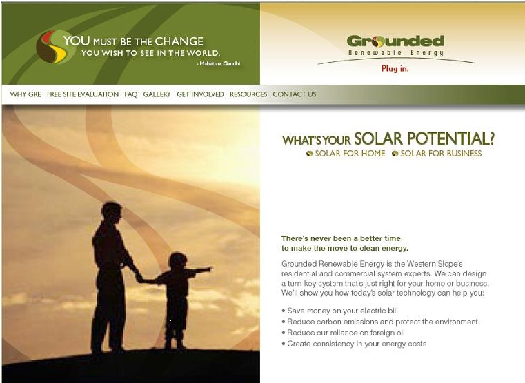 Grounded Renewable Energy, Carbondale Colorado