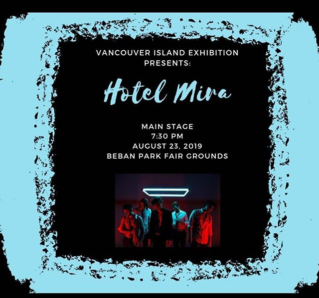 People of Vancouver Island - specifically Nanaimo. We will be playing a show with Moist on August 23rd. Very excited to show you some things we've been working on.