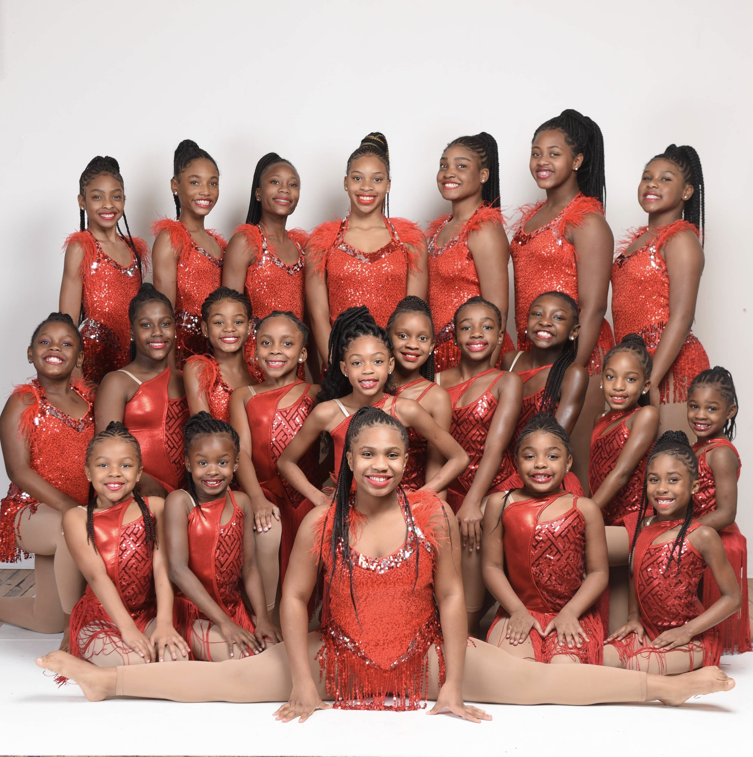 Dynasty Divas Majorette Team The Carroll School Of Dance