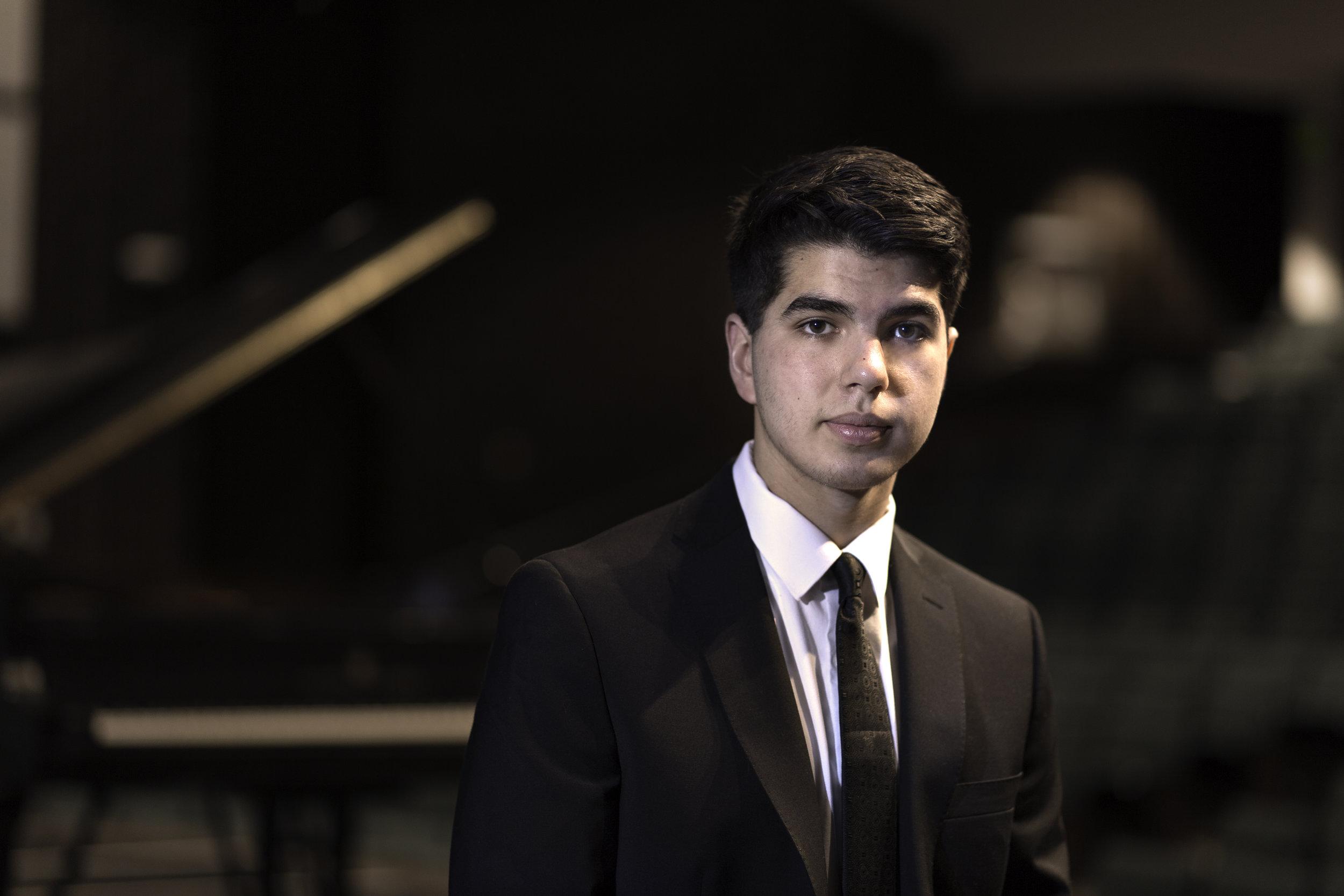 Ben - a wonderful pianist