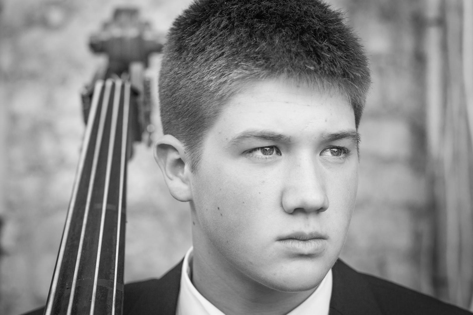 Bass player Isaac