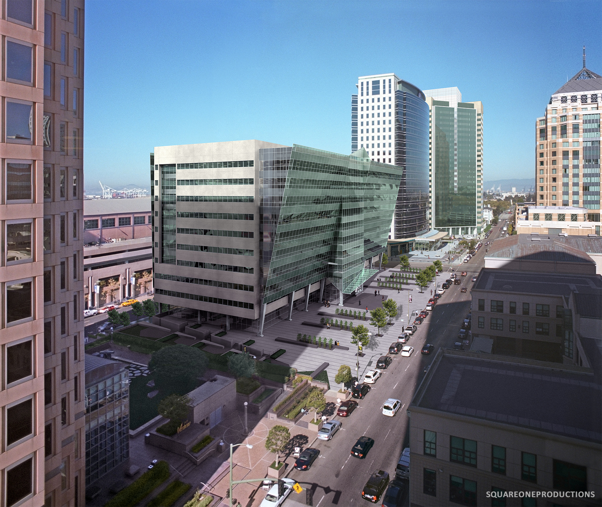 The Oakland City Center   City: Oakland  County: Alameda  Client: John Dolby/ Shorenstein Realty Services