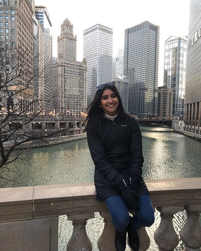 "This week we are featuring Sri Akurati! She has consistently put in the hard work in her role as M.O.R and stands as one of the leaders in our chapter. Thank you to Sri for all that you do! When asked to give a quote, she responded with ""Eat food; be happy"". What a positive outlook!"