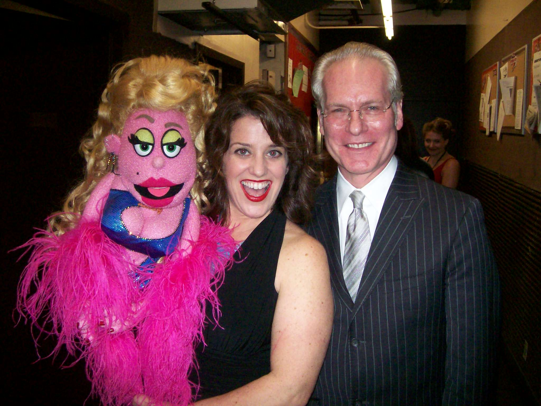 Backstage with Lucy and Tim Gunn
