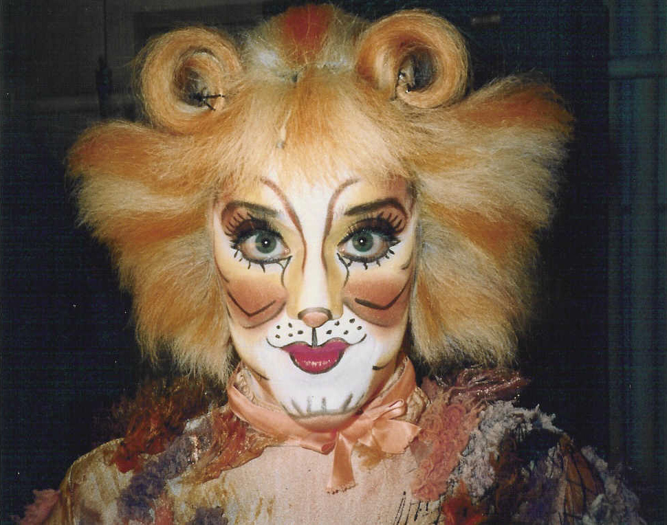 Jennyanydots in  Cats  at the Winter Garden Theater. Closing cast, September, 2000.