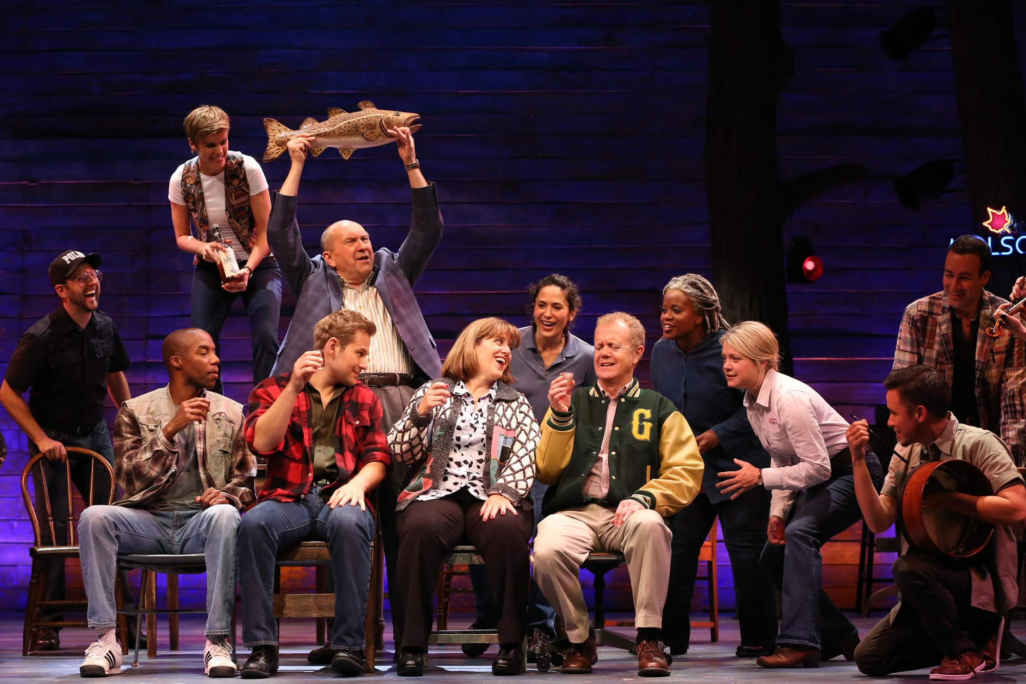 Diane in  Come From Away  at the Ford's Theatre  Photo:  Carol Rosegg