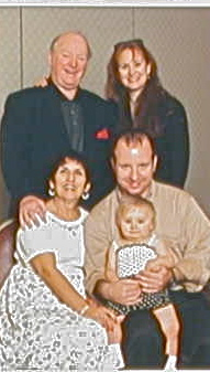 2001 Reunion. My Mom and Dad (pictured with my brother Buzz, his wife and my best friend Maryday, and their daughter Gwendolyn). This is about 14 hours after the fire. Don't they look good?