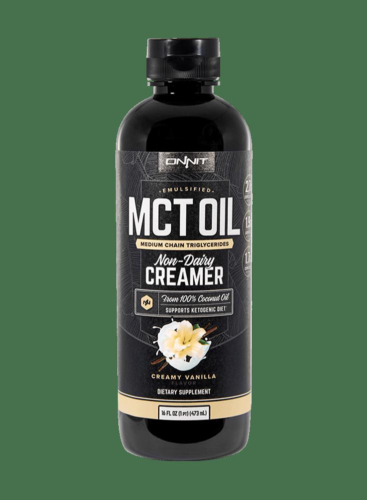 Emulsified MCT Oil - Creamy          Vanilla (16oz)
