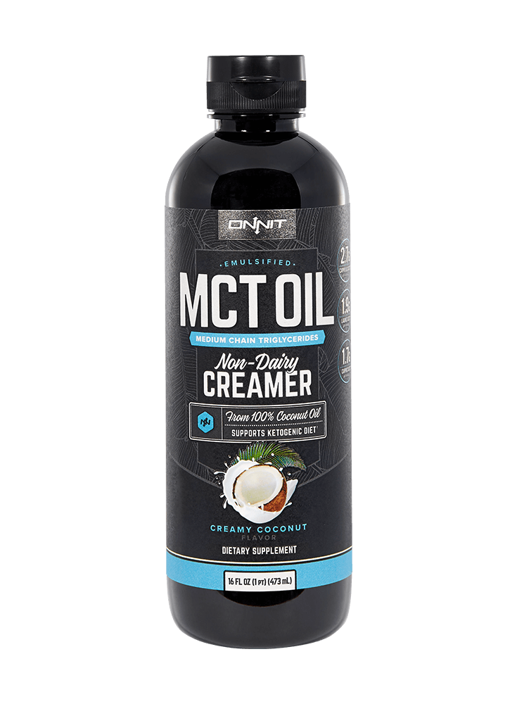 Emulsified MCT Oil - Creamy                   Coconut (16oz)