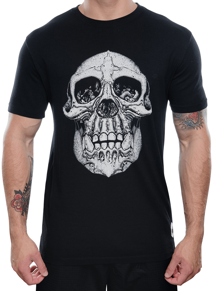 Chimp Skull Bamboo T-Shirt