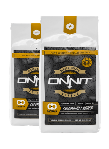 Onnit Caveman Colombian Amber Coffee