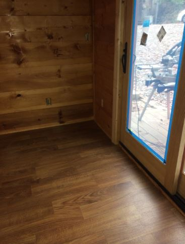 Cabin Remodel with Custom Patina Planking