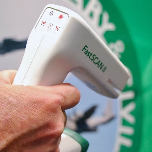 FastSCAN Technology! We use the FastSCAN technology, which has revolutionized the way fit is measured and made. The technology allows you to get the cleanest, most accurate fit via laser, so the abrasiveness is significantly less and the feel is more natural to your body.