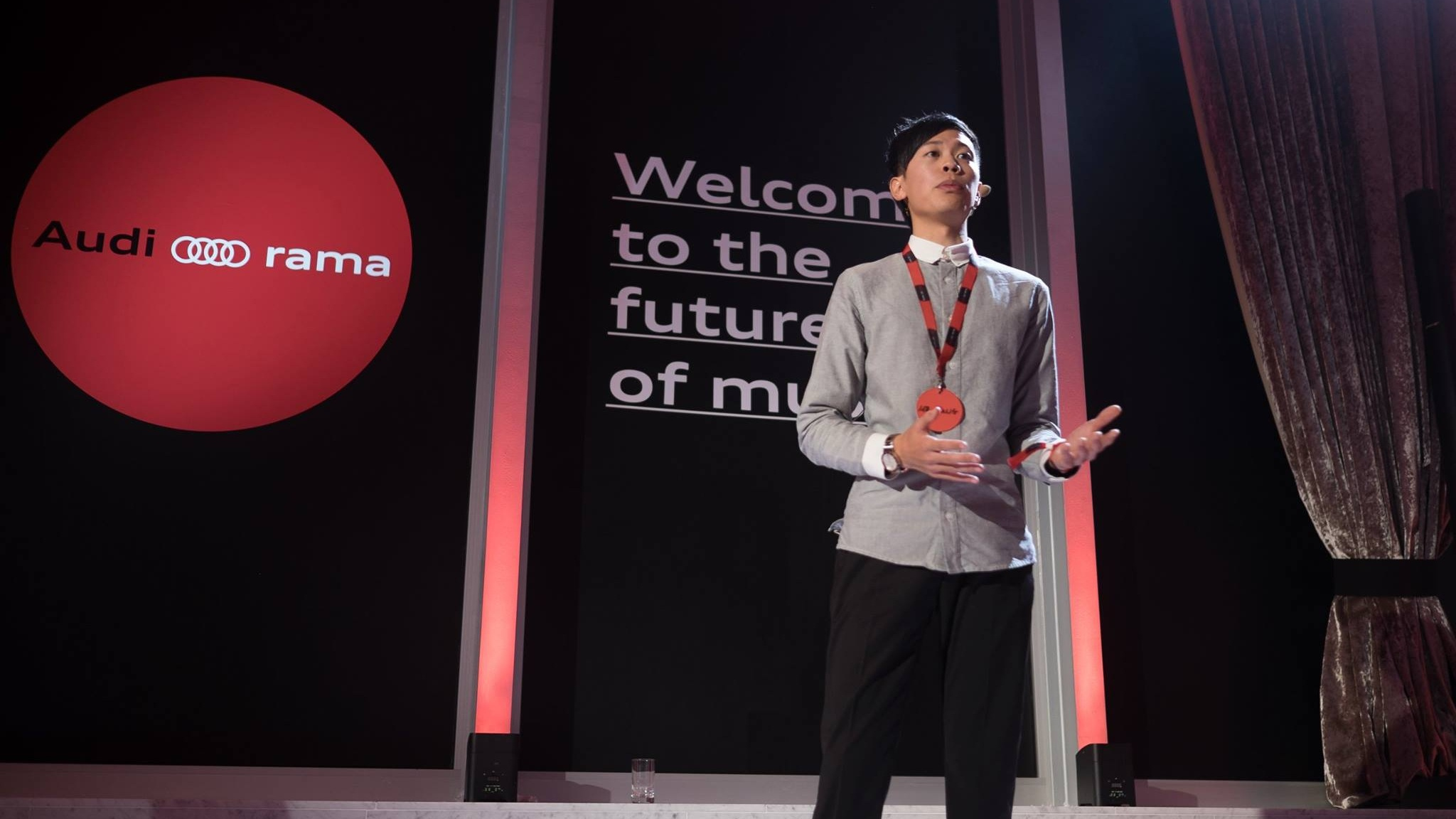 Jason Yang Audi Speaker