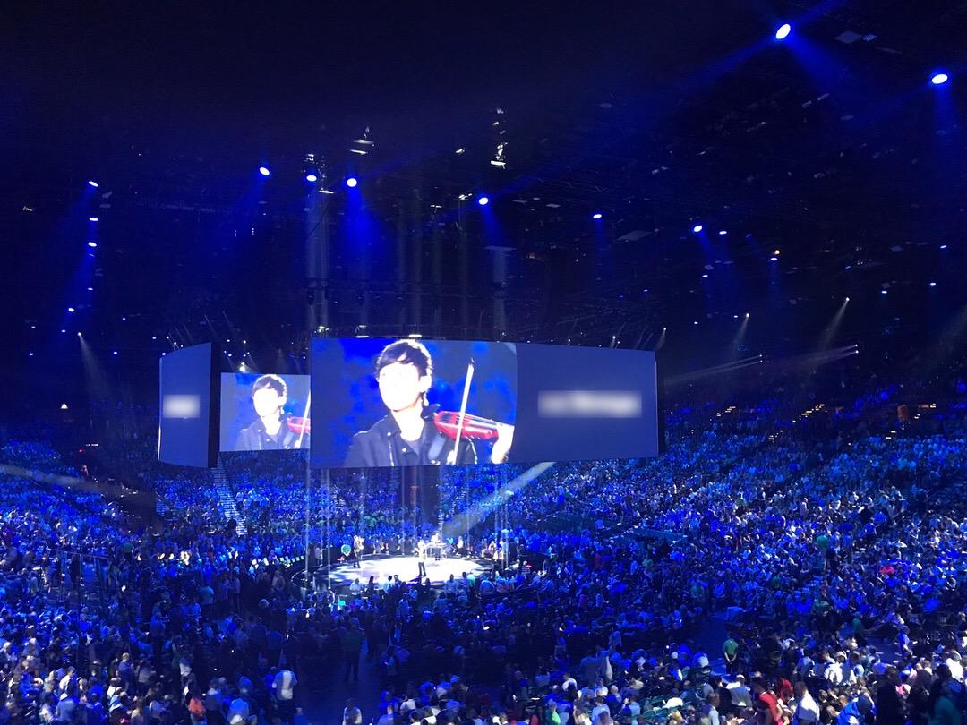 MGM Grand Garden Arena, Las Vegas 2018