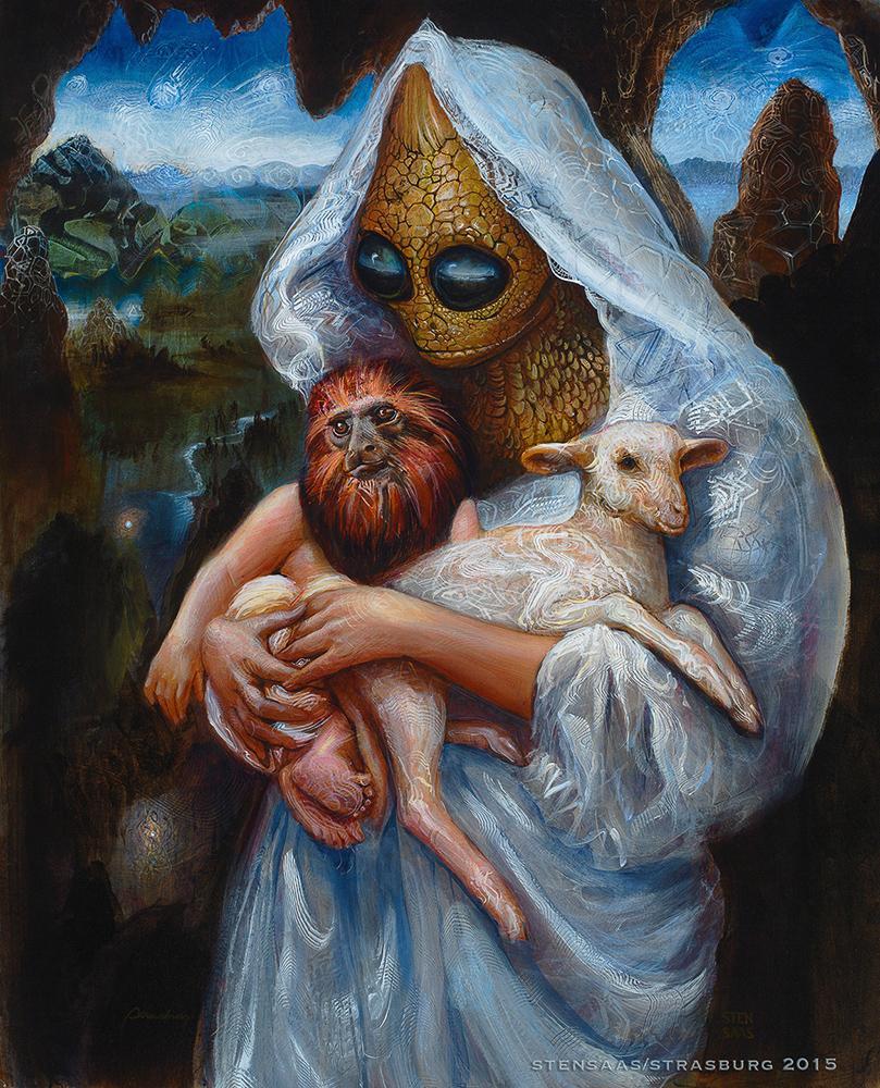 Masks of Innocence. Sunny Strasburg and Martin Stensaas 2017