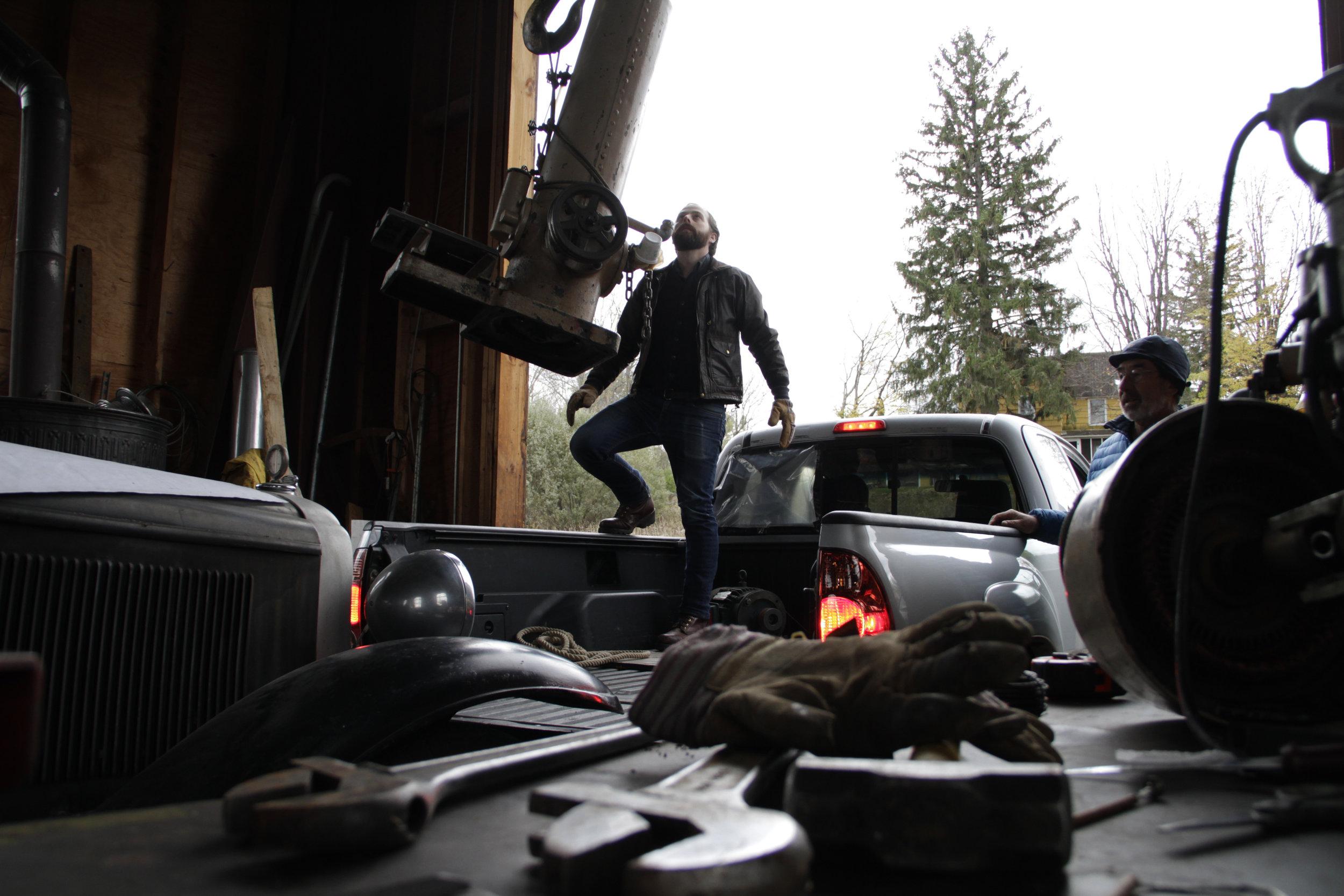 Emmett at Azure Mountain Power