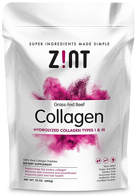 Zint Collagen - I've been using Zint collagen for several years now and I love it! I started using collagen to help with joint pain and to protect my joints, but the benefits are endless! (Truly, Google it and see for yourself.) I find Zint to be a quality product at a decent price. I also love that it mixes right into anything (cold or hot) and doesn't have a strong flavor. I use this in smoothies, tea, sauces, etc.