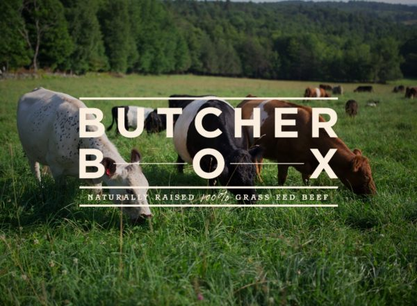 Butcher Box - I use Butcher Box to deliver grass fed beef, pastured chicken, and heritage pork right to my door.Get free bacon for life using my link!