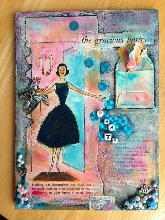 gracious hostess collage