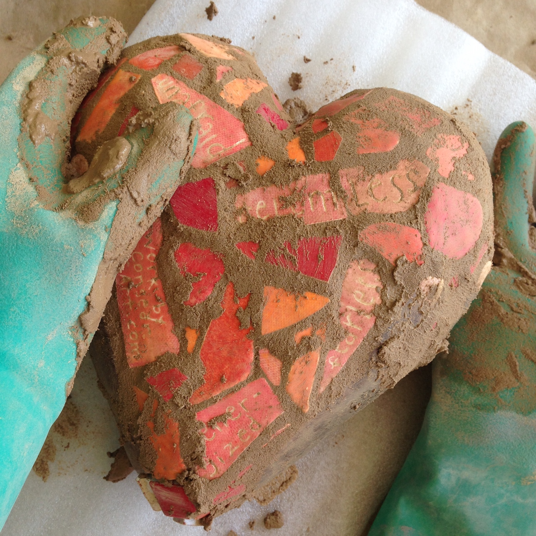 grouting mosaic heart.JPG