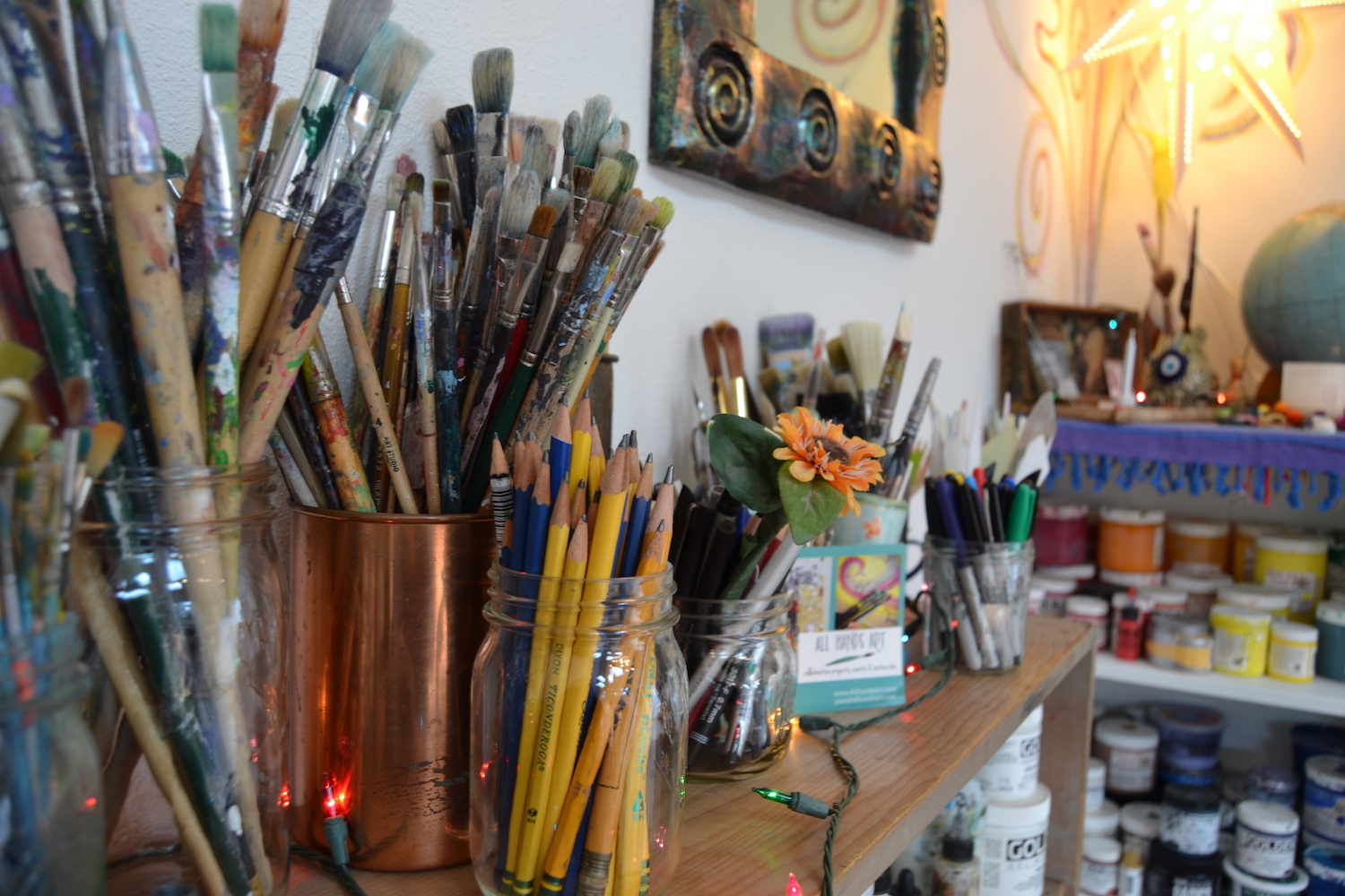 pencils & brushes.JPG