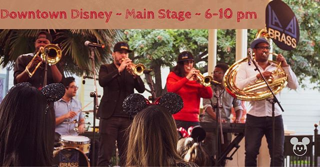 Hey @disneyland Fam!! We'll be in Downtown Disney on the Main Stage tomorrow night from 6-10pm. FREE Show, great atmosphere and even greater music 😉 This stage won't be around much longer so let's make use of it! (Can you spot the hidden Mickey?)