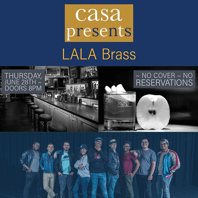 TONIGHT @casacostamesa Starting at 8pm. No Cover No Reservations Needed. Come as you are and enjoy great drink and even better music. 😎✌🏾