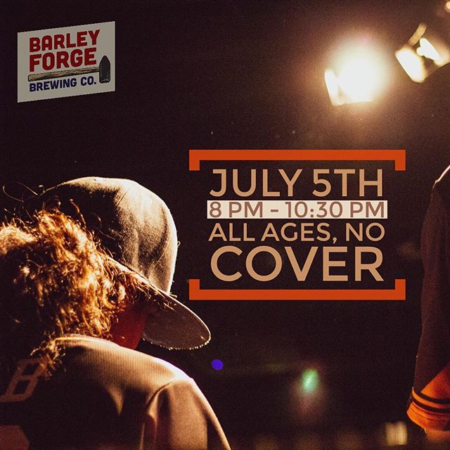 TOMORROW @barleyforge in Costa Mesa from 8pm to 10:30pm. Grab a beer and enjoy the music. 😎 All Ages and No Cover. See you there ✌🏾