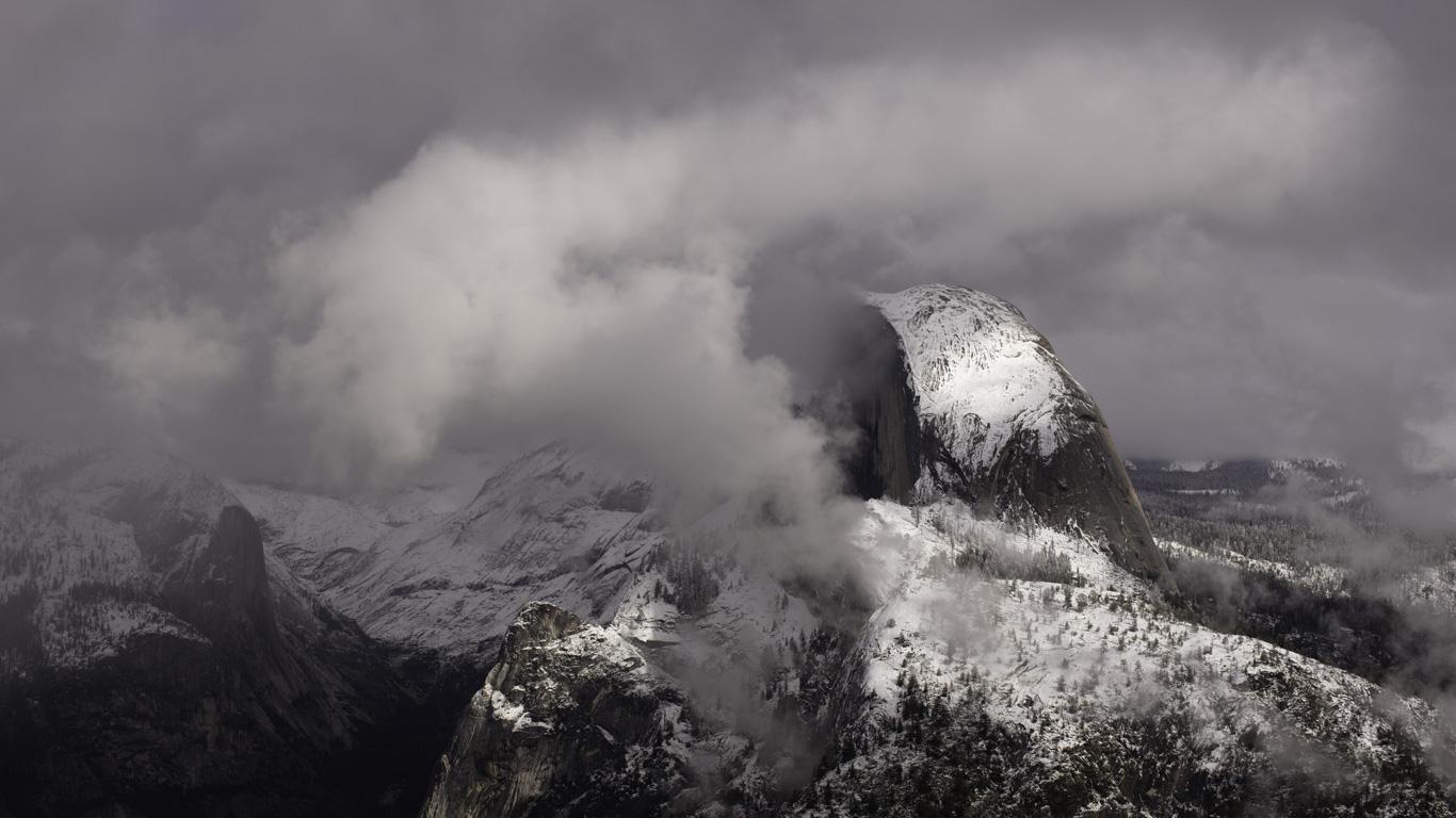 Post Snowstorm, Glacier Point