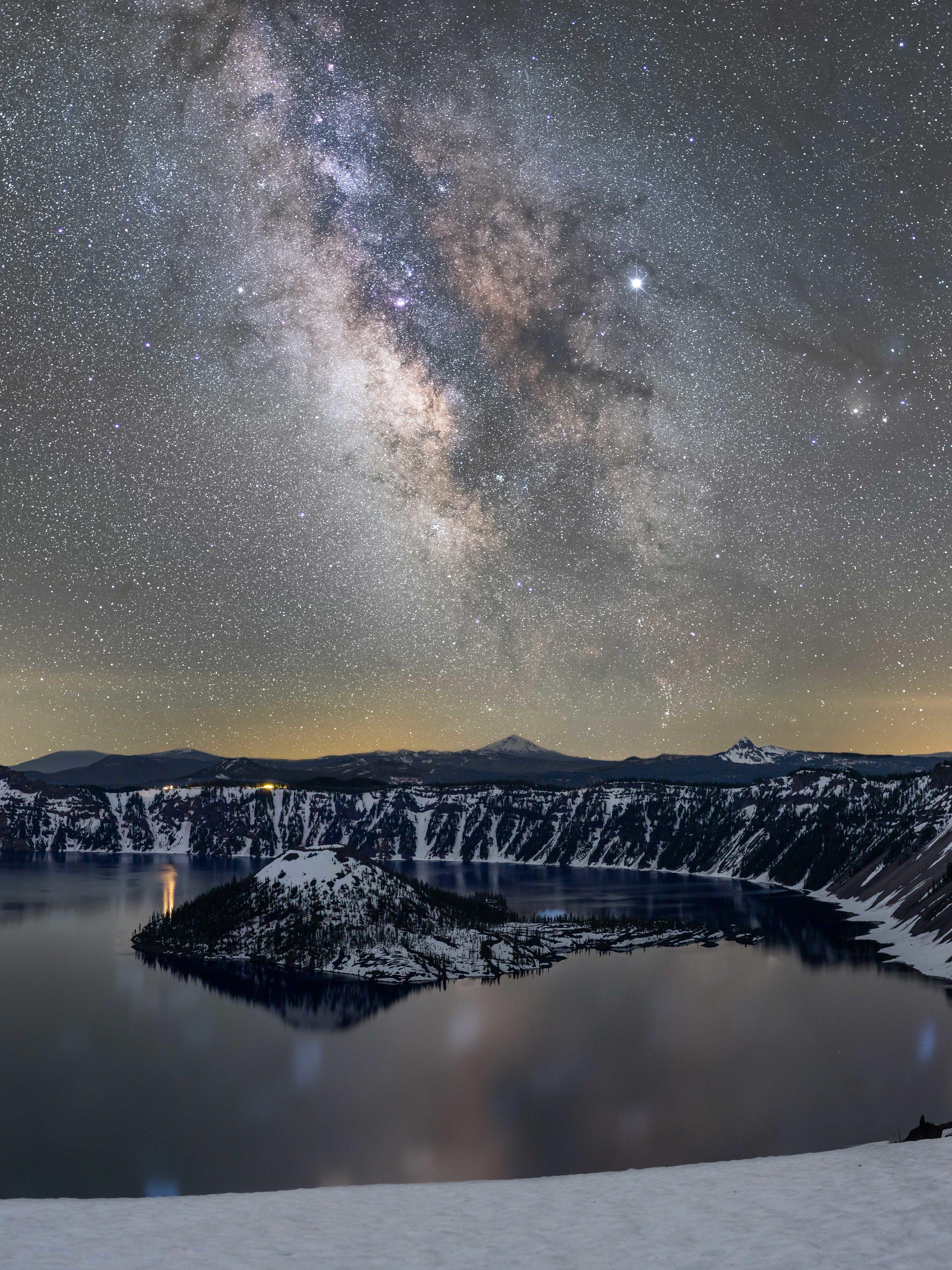 Devils Backbone, Crater Lake National Park - OR