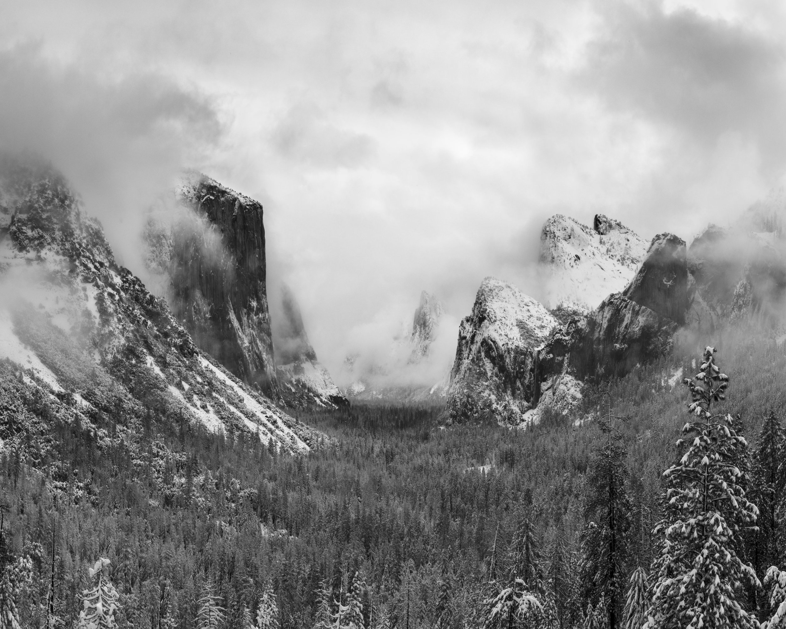 Clearing Winter Storm, Tunnel View