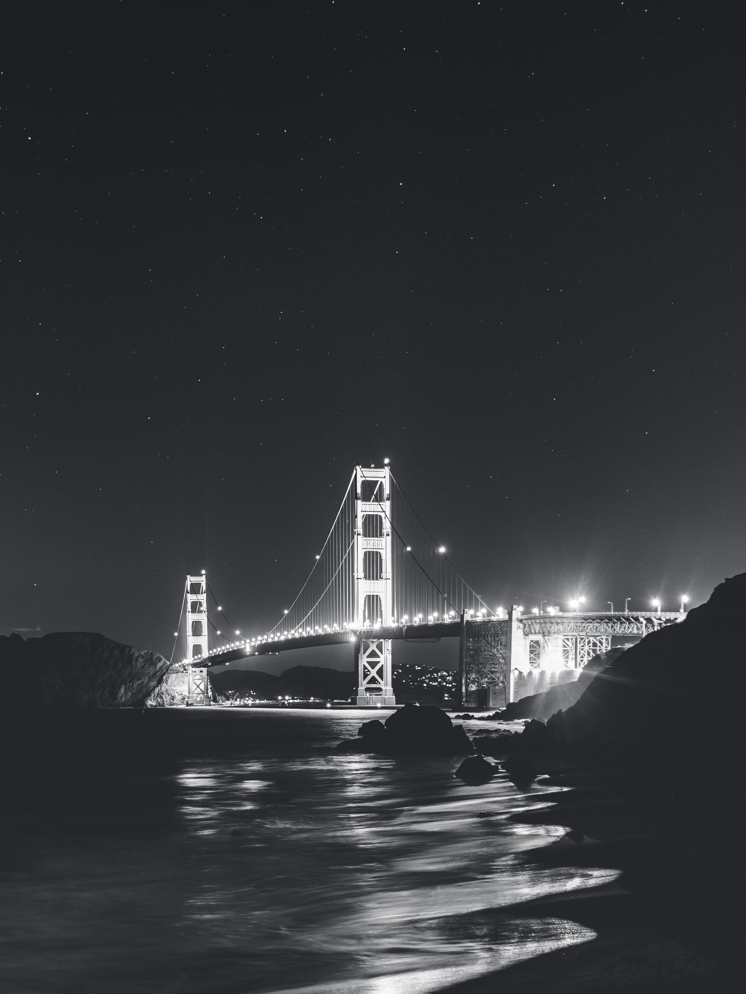 Night Mode, Marshall Beach