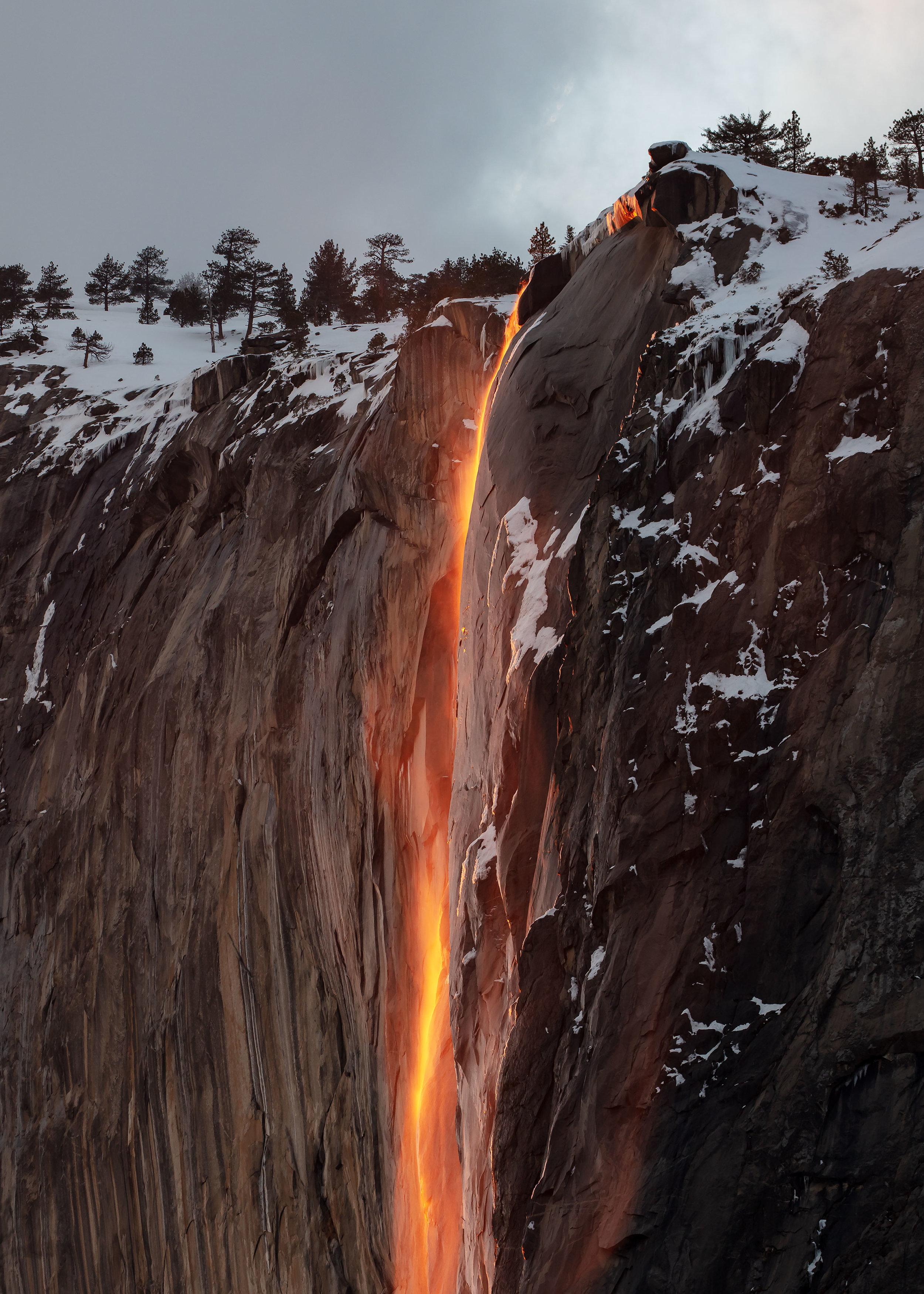 Firefall, from El Capitan Meadow