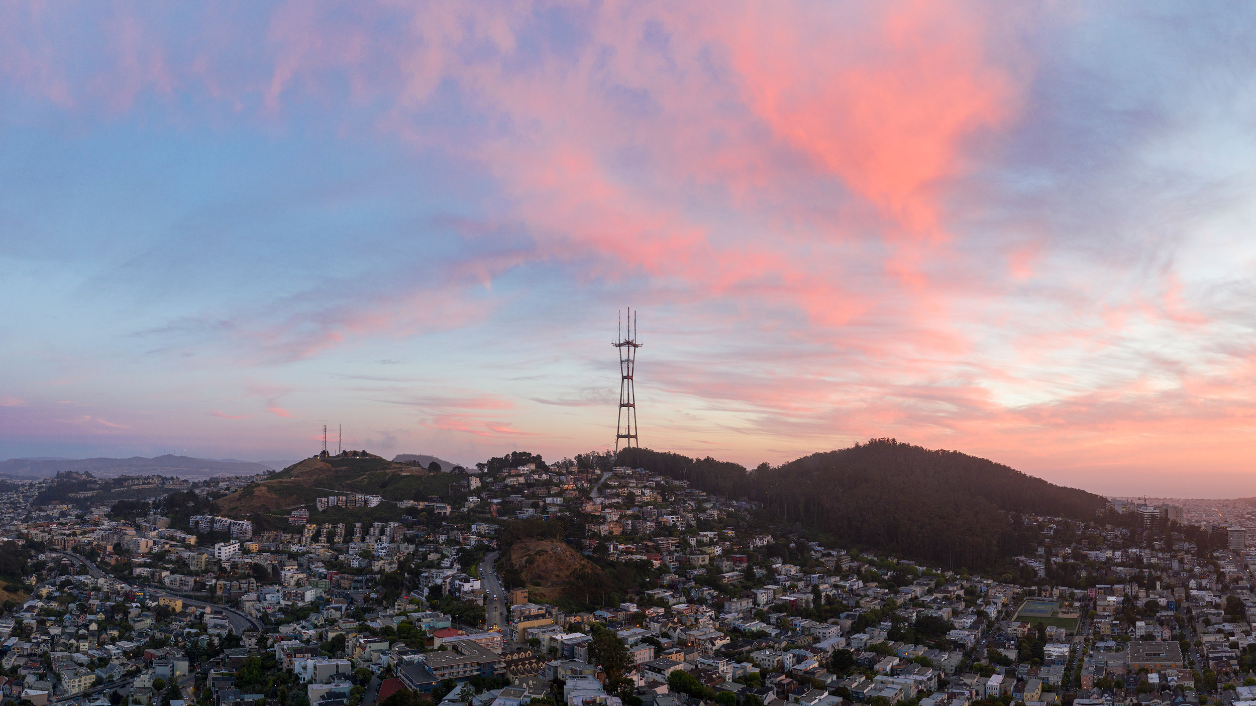 Sutro Tower, from the Apartment Roof