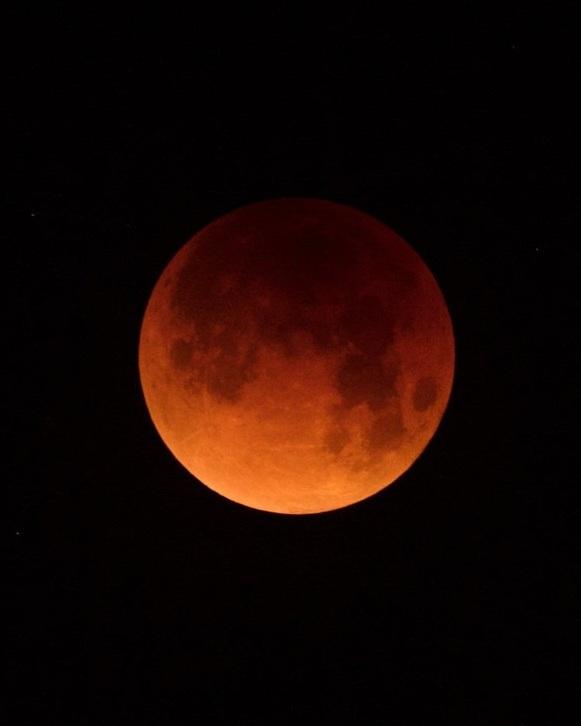 Blood Moon Eclipse - CA
