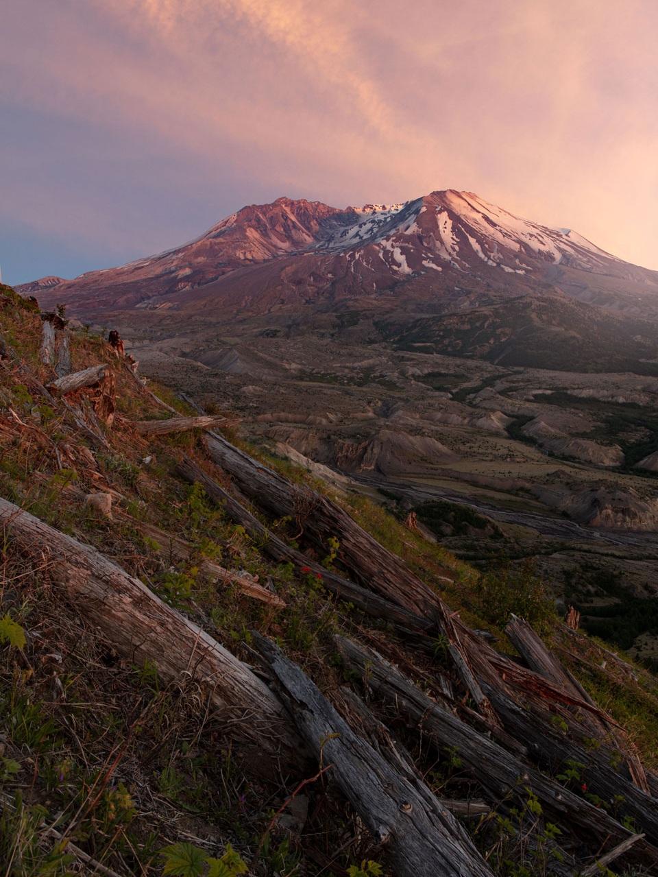 Mt St Helens, Boundary Trail -WA