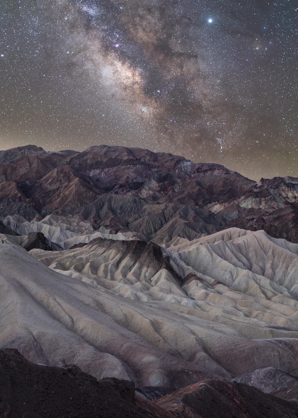 Zabriskie Point, Rim Trail -  Death Valley, CA