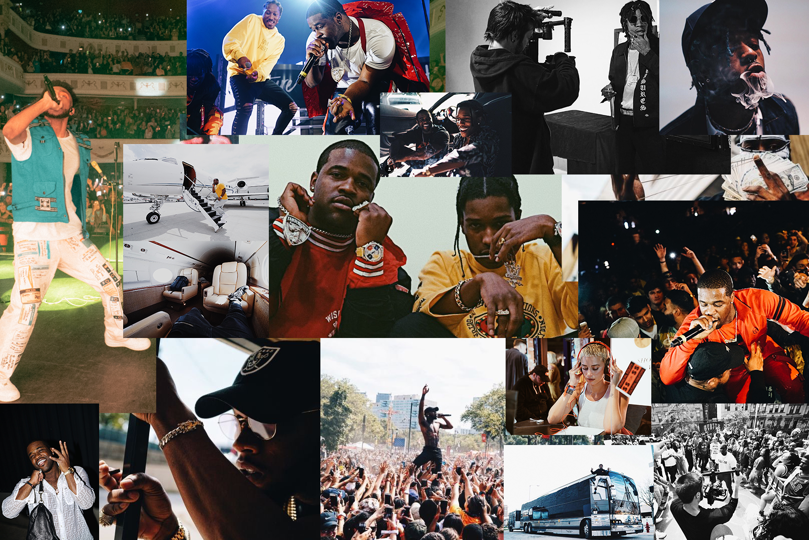 Visual arts - Since being founded in 2013, GURU BLUE LLC has directed & edited hundreds of music videos, documentaries, commercials, & tour videos for artists & companies across the globe. Clients include Tory Lanez, A$AP Ferg, Amine, Atlantic Records, Lil Uzi Vert, Meek Mill, RCA Records, Def Jam, Adidas, Margaritaville, YesJulz, & more. Check out some portfolio highlights below.lyricsandlines@gmail.com // @GuruBlue.co