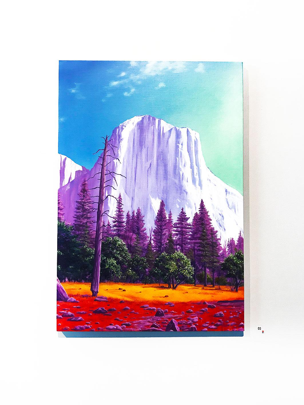 Jack Rowland -  El Capitan , Oil on linen 73 x 50 cm