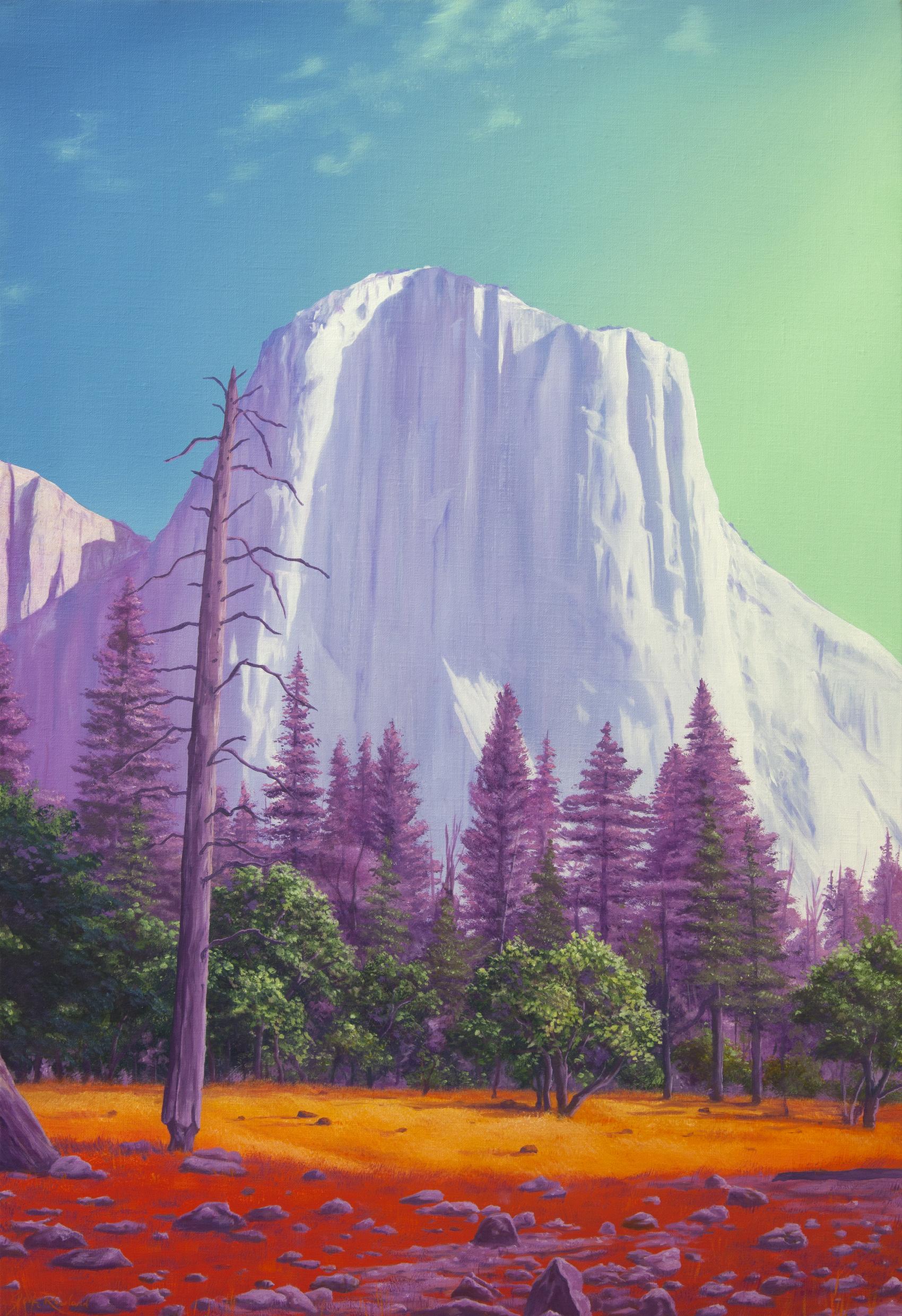 Jack Rowland -  El Capitan , Oil on linen 73 x 50 cm (photo provided courtesy by Artist)