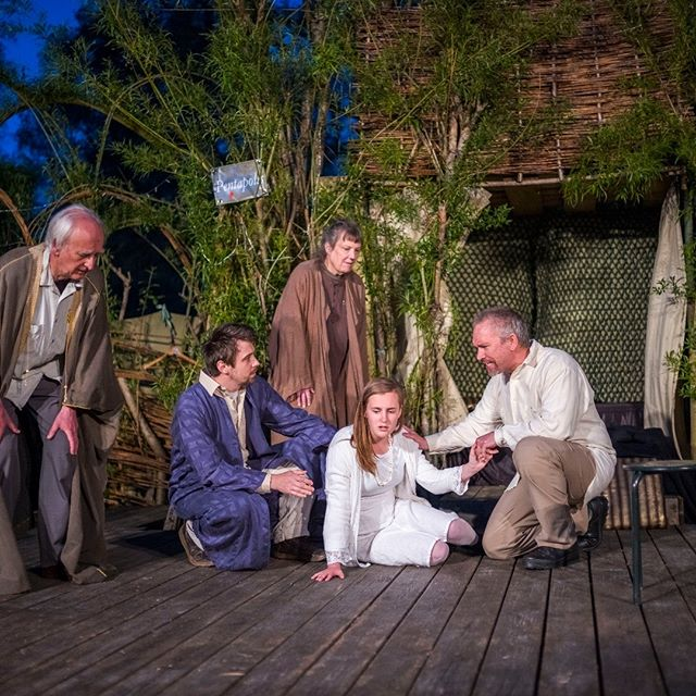 Pericles is formally open- what a great first night #pericles #shakespeare #openairtheatre #therealmidwales